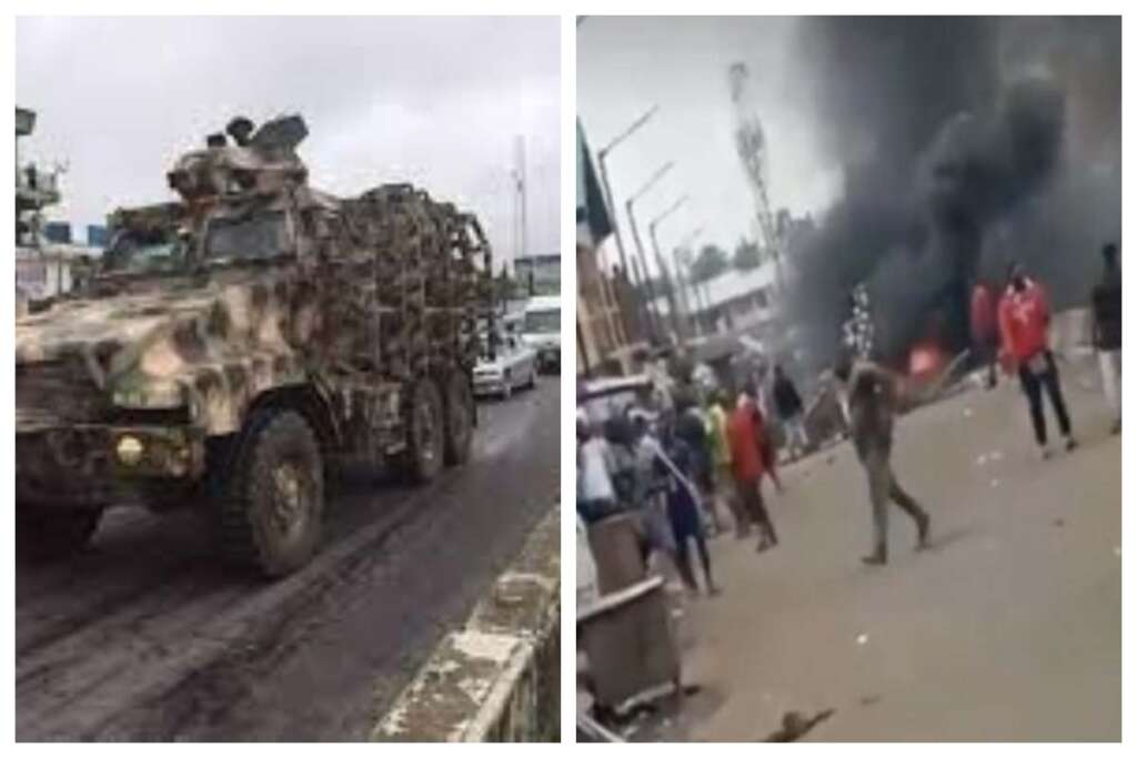 Video) Traders and military men clash at Lapido Market, Lagos, many  reported dead » RNN